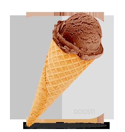 بستنی قیفی