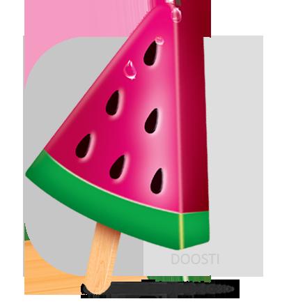 بستنی هندوانه ای